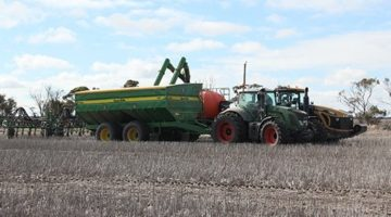 Decrease your fill time at seeding